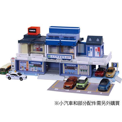 TOMICA交通世界 BUILD CITY商店街組 (不含小汽車) 97836