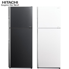 HITACHI【RG409/RG-409】日立 403公升 變頻琉璃兩門冰箱 一級能效