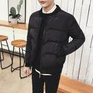 一件免運-冬季2018新品韓版潮流短版棉衣男外套學生加厚冬裝棉襖子羽絨棉服