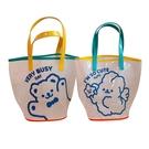 ins可愛小熊果凍手提袋沙灘包透明夏季女出行便攜實用大容量包包 88600