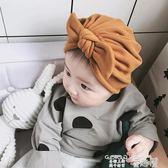 嬰兒帽 可愛蝴蝶結羊絨棉嬰兒帽子公主秋冬兒童新生兒男女寶寶胎帽春秋潮 童趣屋