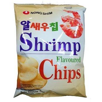 韓國農心鮮蝦餅75g*2包【合迷雅好物超級商城】