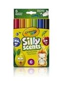繪兒樂 Crayola 白日夢趣味扁方頭彩色筆6色