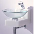 【麗室衛浴】歐化盆系列  玻璃歐化盆組CB-16