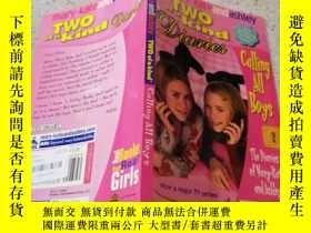 二手書博民逛書店Two罕見of a Kind :Calling All Boys 天生一對:叫所有的男孩Y200392