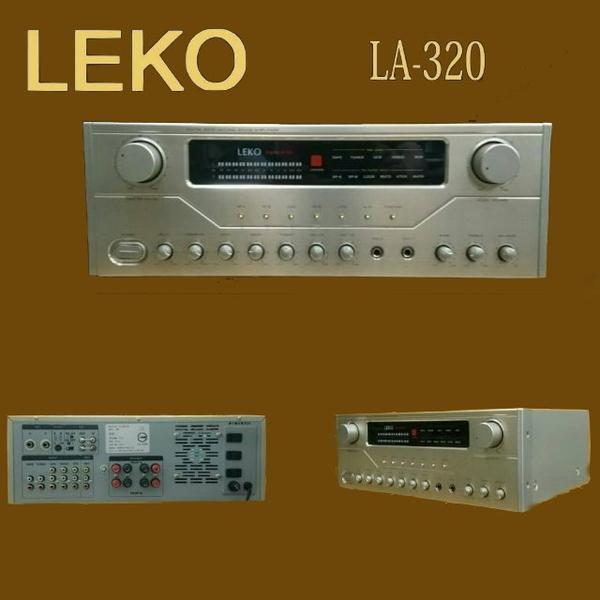 台灣製造 LEKO LA-320 卡拉OK營業級混音擴大機 全新品