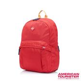AT美國旅行者Rudy 輕量跳色背帶中性後背包(紅)