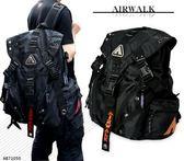 後背包 AIRWALK 三叉扣 後背包 登山包 筆電包 AB71050