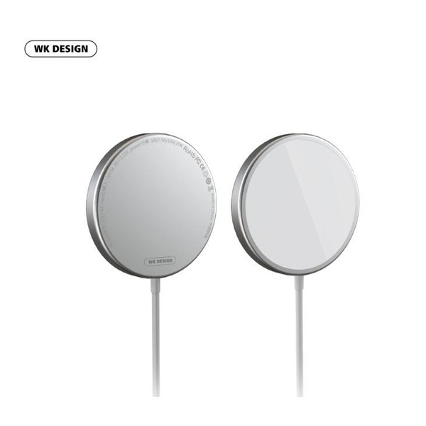 【Love Shop】WK 磁力無線充電器 適用IPHONE12 磁吸無線 15W快充 磁力充電器