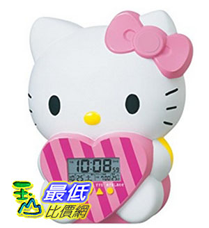 [東京直購] SEIKO CLOCK JF375A 時鐘 鬧鐘 Hello Kitty Alarm Clock