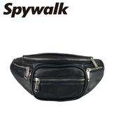 SPYWALK  皮質素色個性腰包 NO:S8178