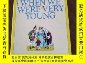 二手書博民逛書店When罕見We Were Very YoungY110532
