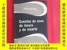 二手書博民逛書店外文書罕見CUENTOS DE AMOR DE LOCURA D