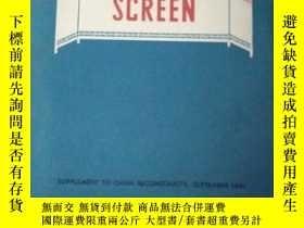 二手書博民逛書店THE罕見CHINESE SCREEN【中國的屏風,英文版】66
