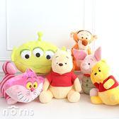 【日貨迪士尼SEGA娃娃】Norns 日本正版 景品 絨毛玩偶 抱枕 三眼怪 維尼 跳跳虎小豬 米奇妙妙貓