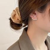 純銀仿珍珠耳釘女韓國2020年耳環新款潮耳飾氣質網紅耳墜百搭「草莓妞妞」