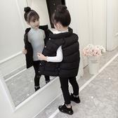 兒童馬甲冬季加厚外穿2019新款秋冬款洋氣寶寶男童女童羽絨棉外套