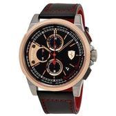 法拉利Ferrari - Formula Italia S三眼皮革腕錶-830313 跑車腕錶 男錶女錶對錶法拉利手錶品牌手錶
