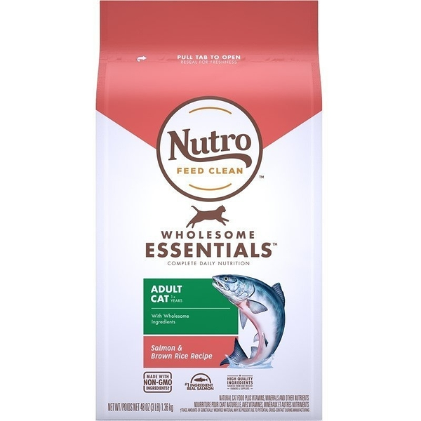 *WANG*美士NUTRO《全護營養系列-特級成貓配方(特級鮭魚+糙米)》5磅 貓糧 一至七歲成貓專用