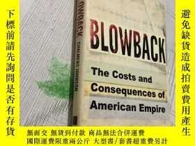 二手書博民逛書店Blowback罕見反吹Y16761 Blowback Blow