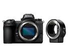 Nikon Z6 body + FTZ轉...
