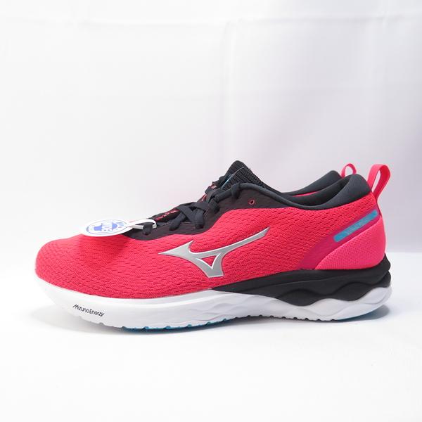 Mizuno WAVE REVOLT 女款 3E楦 ENERZY慢跑鞋 J1GD208504 粉桃【iSport愛運動】