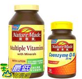 [COSCO代購] W128596 Nature Made萊萃美 綜合維生素 300錠 & 輔酵素 Q10 150粒