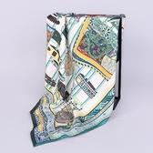 桑蠶絲圍巾-歐美時尚典雅流行女絲巾5色73hx37【時尚巴黎】