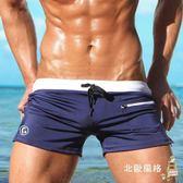 降價兩天-泳褲男平角潮寬鬆性感男款成人泡溫泉泳衣男士低腰游泳褲