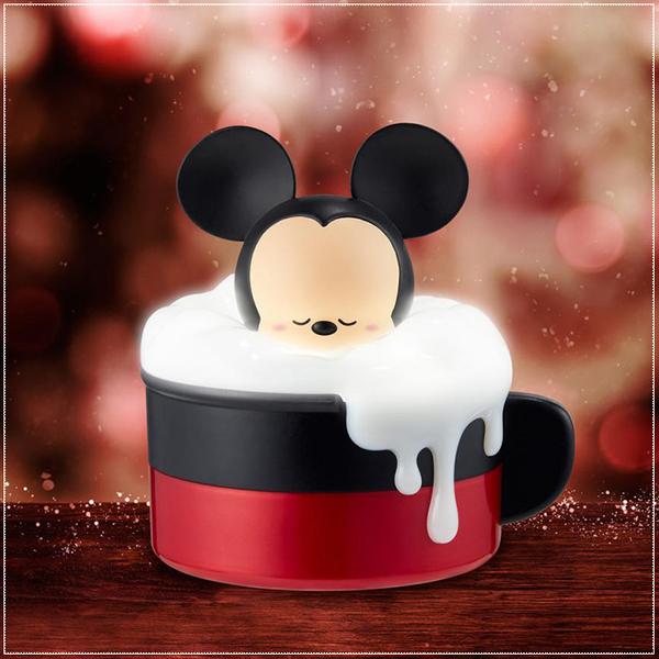 泡泡歐蕾小夜燈收納盒-米奇-情人節禮物/生日禮物/兒童節/聖誕節禮物/婚禮禮物/迪士尼婚禮主題