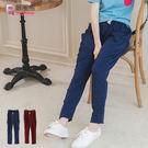 質感運動褲--街頭百搭腰頭抽繩哈倫褲版型大口袋休閒棉褲(紅.藍2L-5L)-P108眼圈熊中大尺碼