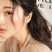 氣質韓國個性純銀耳釘女精致迷你星星小耳墜