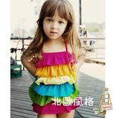 降價兩天-兒童泳衣女孩女童小公主可愛連身溫泉寶寶游泳衣幼兒小孩1-3歲
