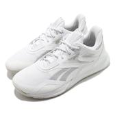 Reebok 訓練鞋 Nano X Hero 白 銀 女鞋 多功能 運動鞋 CrossFit專用 【ACS】 FX7952