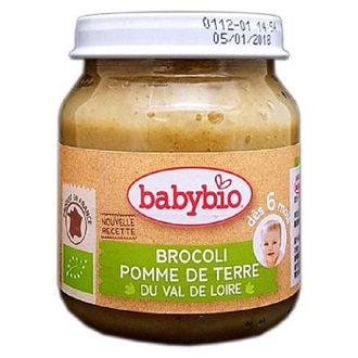 Babybio 綠花椰綜合蔬菜泥130公克