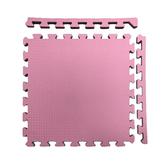 特力屋安全雙色地墊 48x48x1.4cm 4入 粉紅