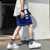 夏季港風短褲男潮百搭韓版褲子男休閒運動中褲ins直筒五分褲