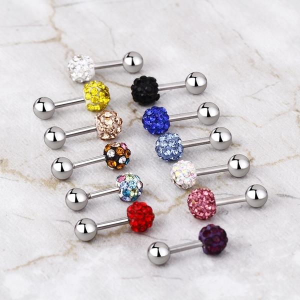 316白鋼 閃亮多鑽耳環 多鑽圓形造型耳環 男女皆可配戴 送禮物推薦 單個價【ECS085】Z.MO鈦鋼屋