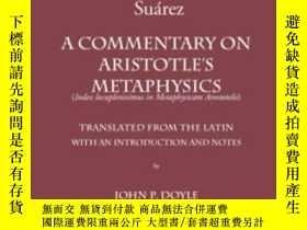 二手書博民逛書店A罕見Commentary On Aristotle s MetaphysicsY307751 Francis