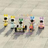 拼裝玩具樂高微小顆粒積木女孩系列太空宇航員車模型男孩禮物【奇妙商舖】
