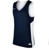 NIKE 男裝 籃球衣 休閒 透氣 雙面穿 針織 藍 白【運動世界】867766-420
