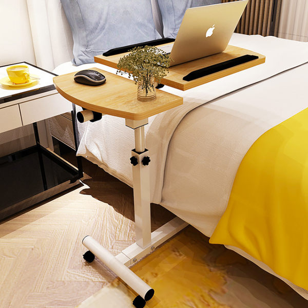 筆電桌 多功能 升降電腦桌 NB桌 床邊桌 床上懶人桌 沙發桌 小桌子《YV9227》快樂生活網