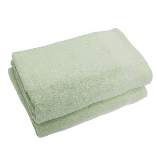 五星級飯店浴巾-淺豆綠【愛買】