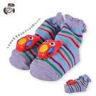 貝柔寶寶手縫公仔鞋型止滑襪(0~18個月)-貓頭鷹