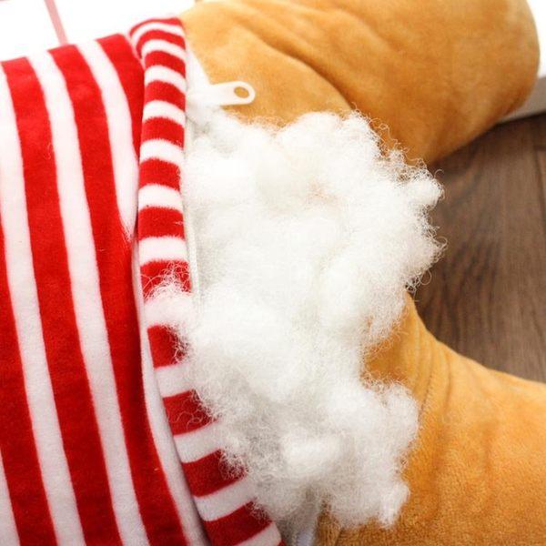 毛絨玩具狗狗睡覺抱枕公仔枕頭可愛兒童布娃娃狗年吉祥物禮物女生FA