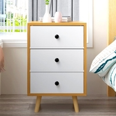 熱銷歐式床頭櫃 簡約現代儲物櫃臥室床邊櫃子多功慧收納櫃鬥櫃LX 智慧e家
