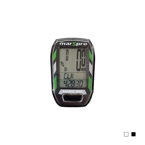 MARSPRO 無線踏頻碼錶(黑/白)