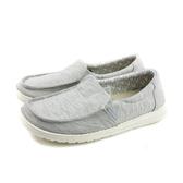 Hey Dude 休閒鞋 帆船鞋 帆布 女鞋 淺灰色 HD1902-813 no005