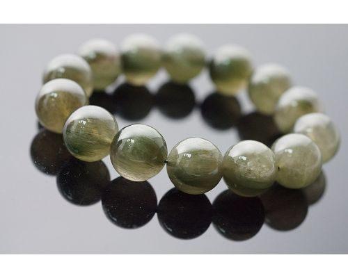 【喨喨飾品】綠髮晶手鍊 N178