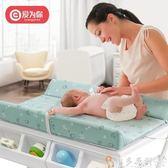 多功能尿布台 愛為你新生嬰兒換尿布臺多功能寶寶洗澡臺可折疊便攜bb浴盆護理臺 DF 免運